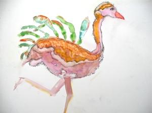 judy's ostrich