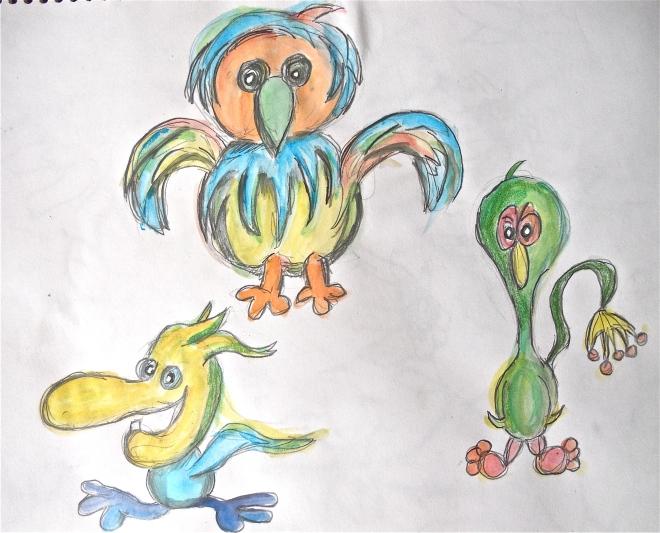 Doodle w/ watercolor
