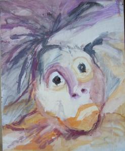 Acrylic on Canvas, by moi