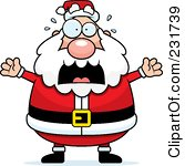 231739-royalty-free-rf-clipart-illustration-of-santa-freaking-out-poster-art-print