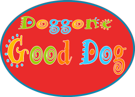 Doggone, red oval
